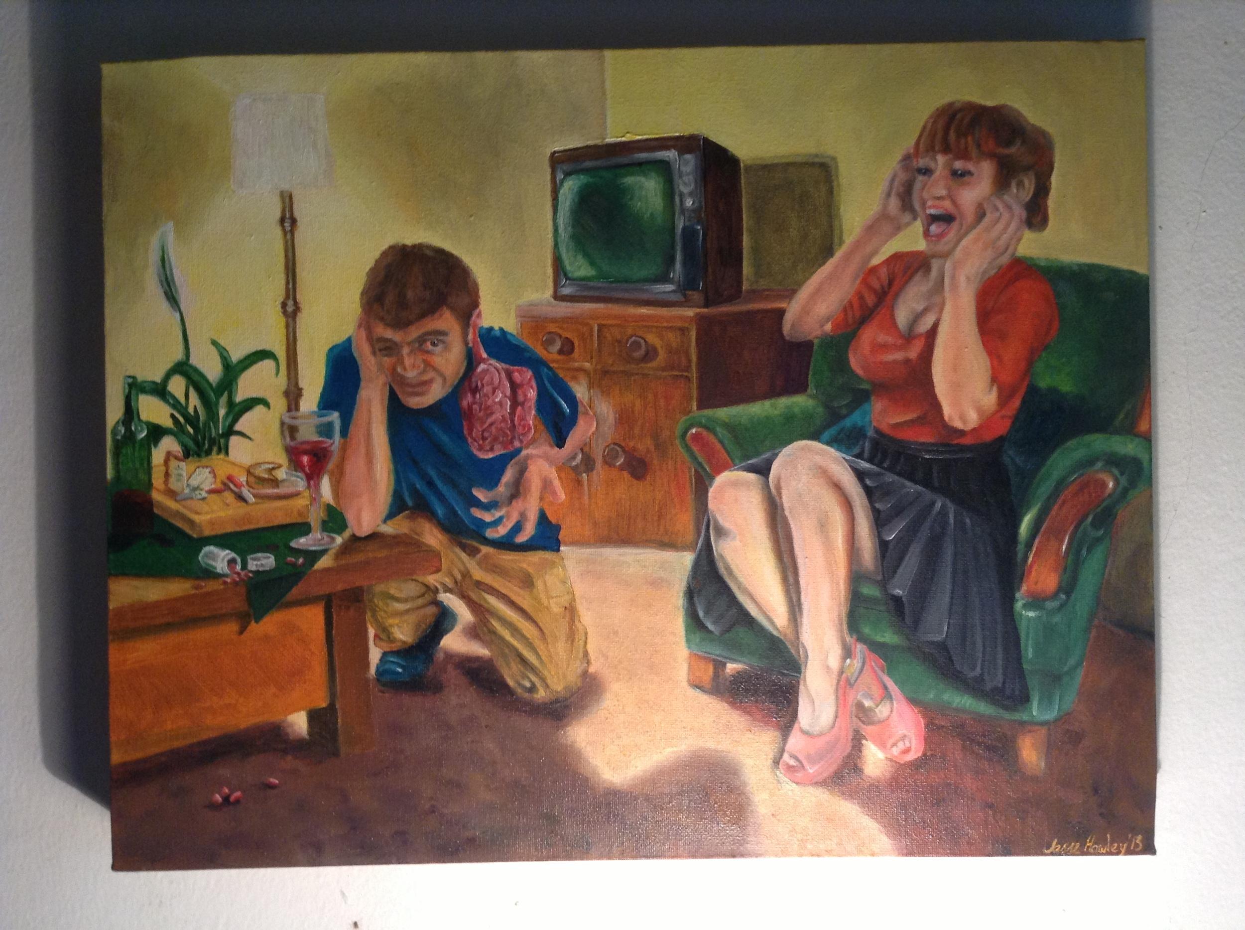 iain mcgregor head on fire maoi painting.JPG