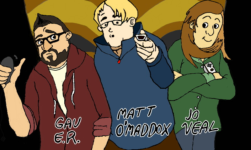 The hosts of the Nintendo podcast, which I listened to at the time