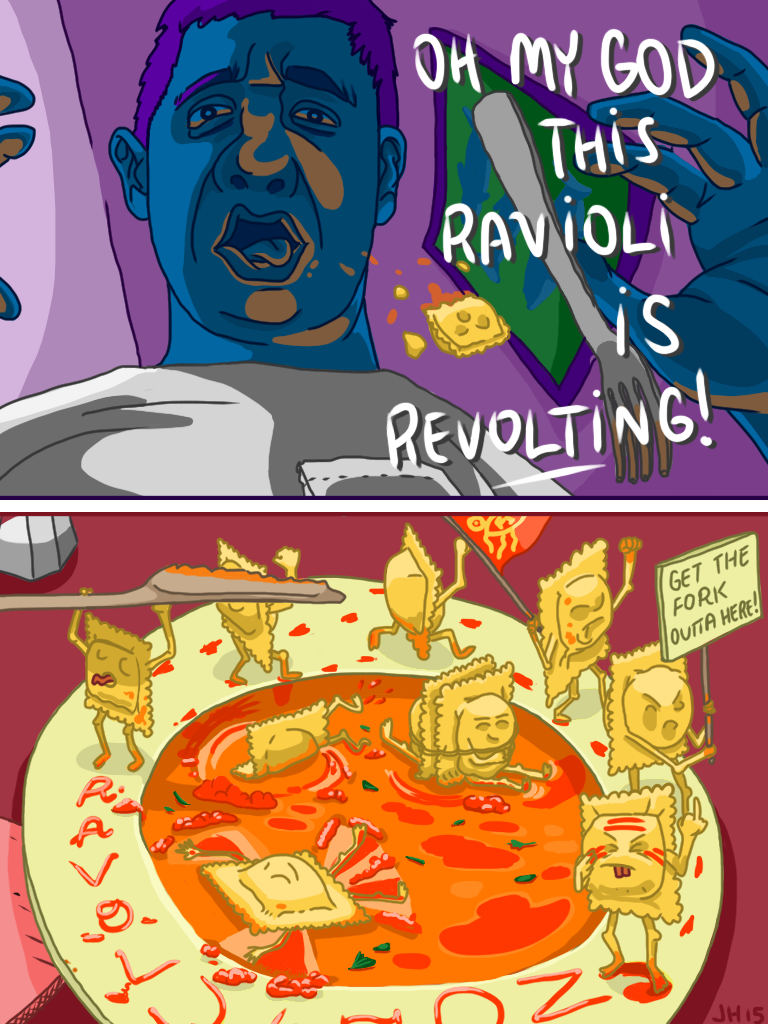 Revolting Ravioli