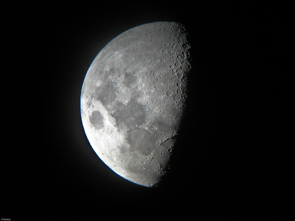 A view of the Moon from the Northern Hemisphere. Photo: perry-pics/Flickr/CC BY-SA 2.0