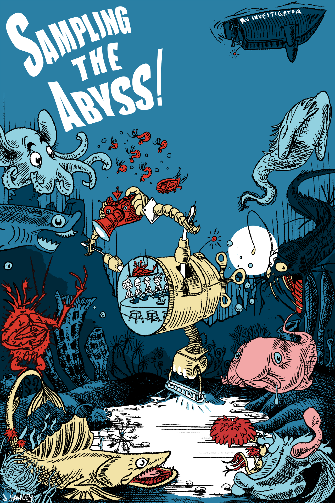 RV Investigator: Sampling the Abyss