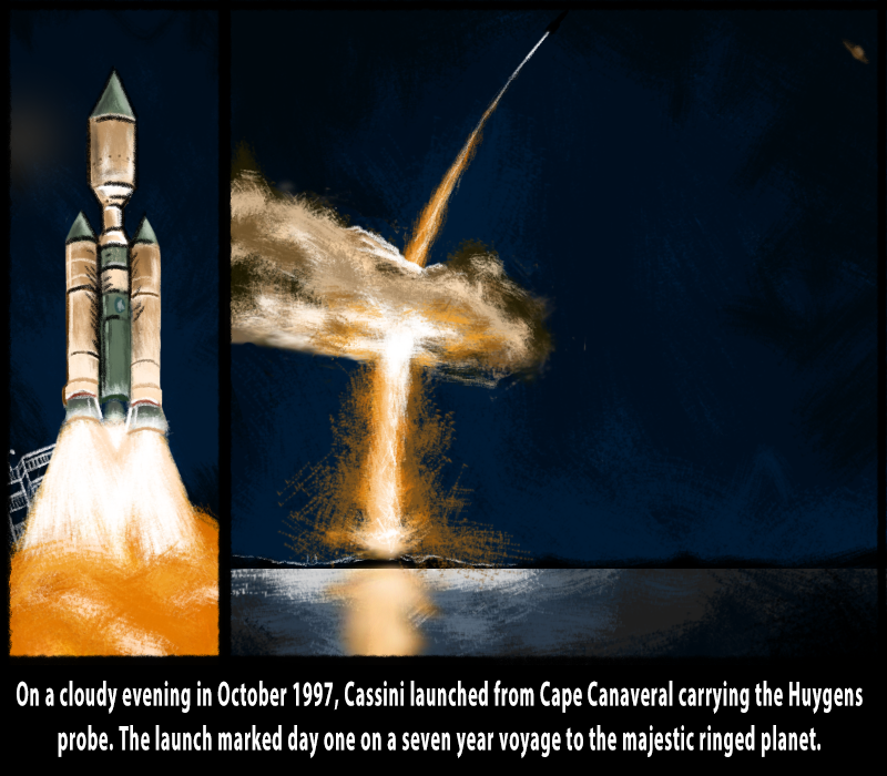 1) Lift off w captions, cassini end of mission.png