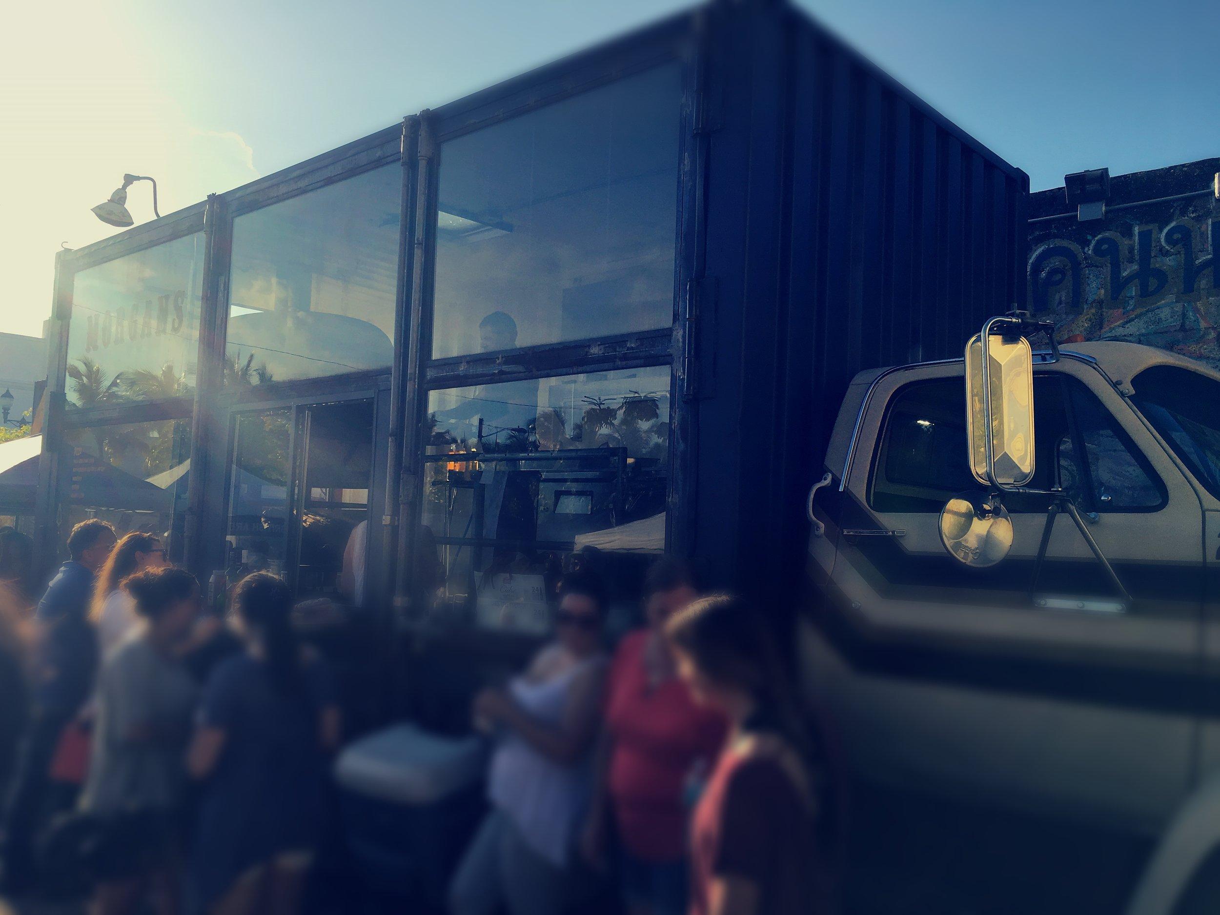Massive food trucks pull into Miami Flea