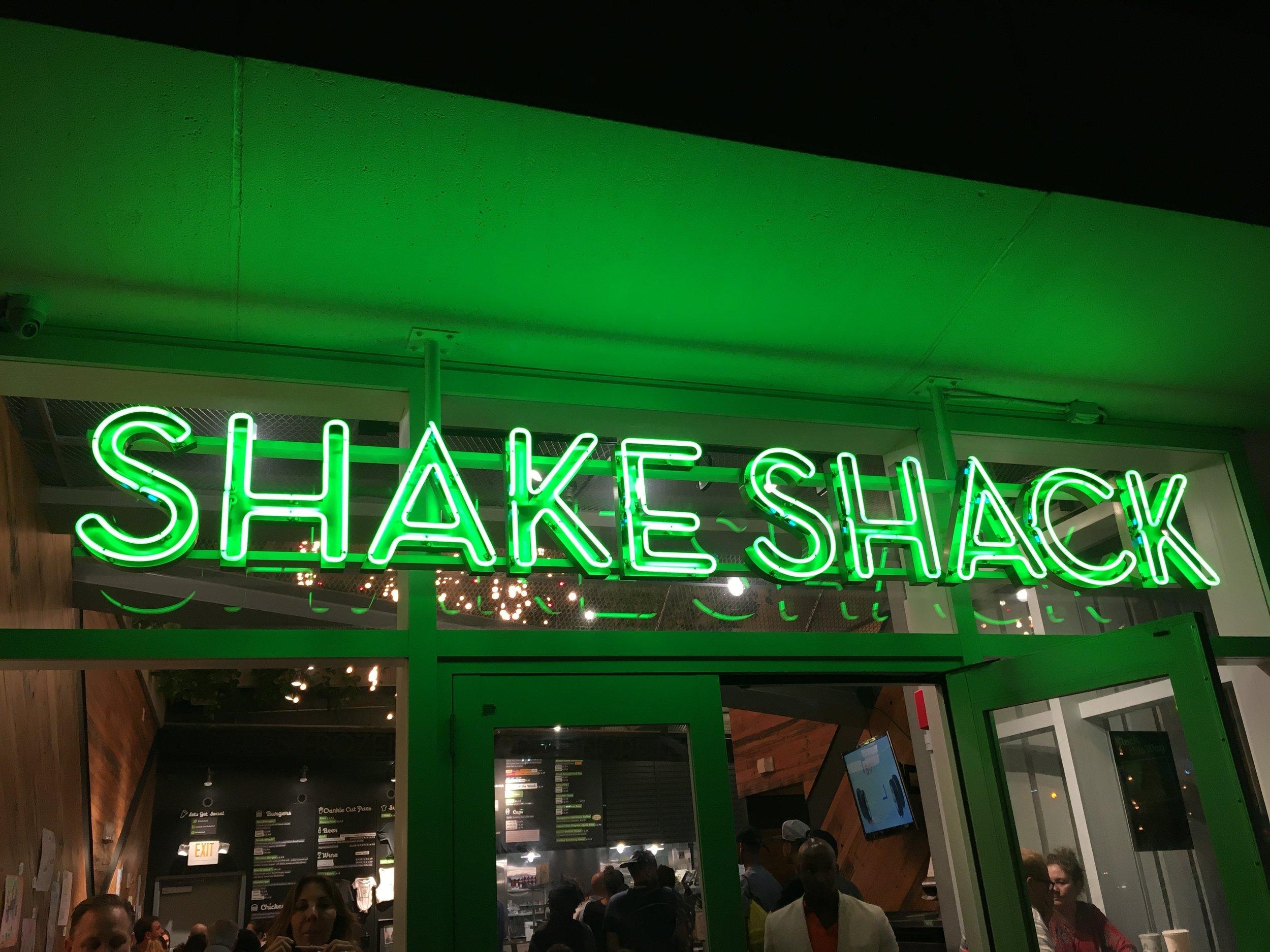 Shake Shack at South Beach