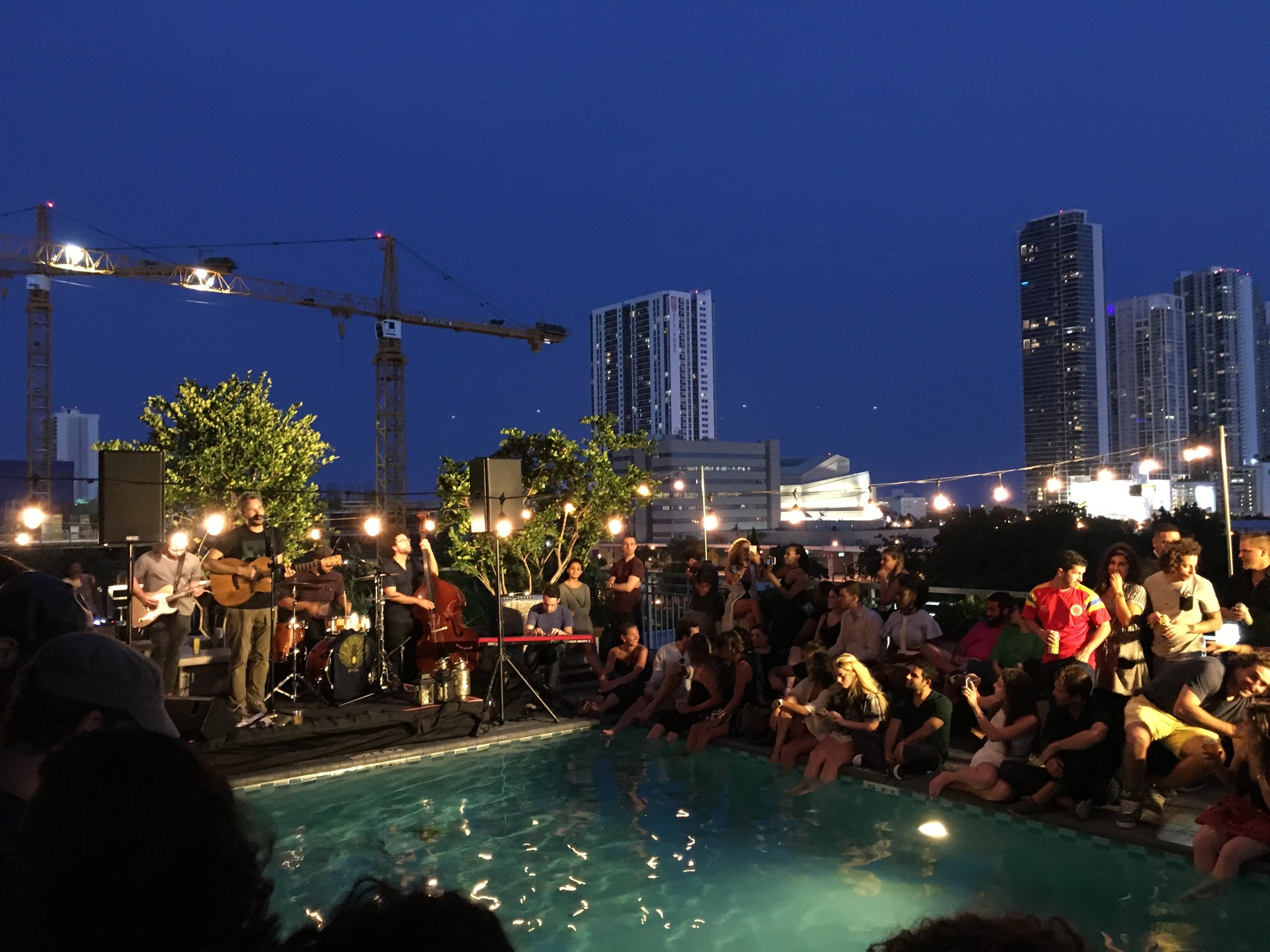 Rooftop Live Music