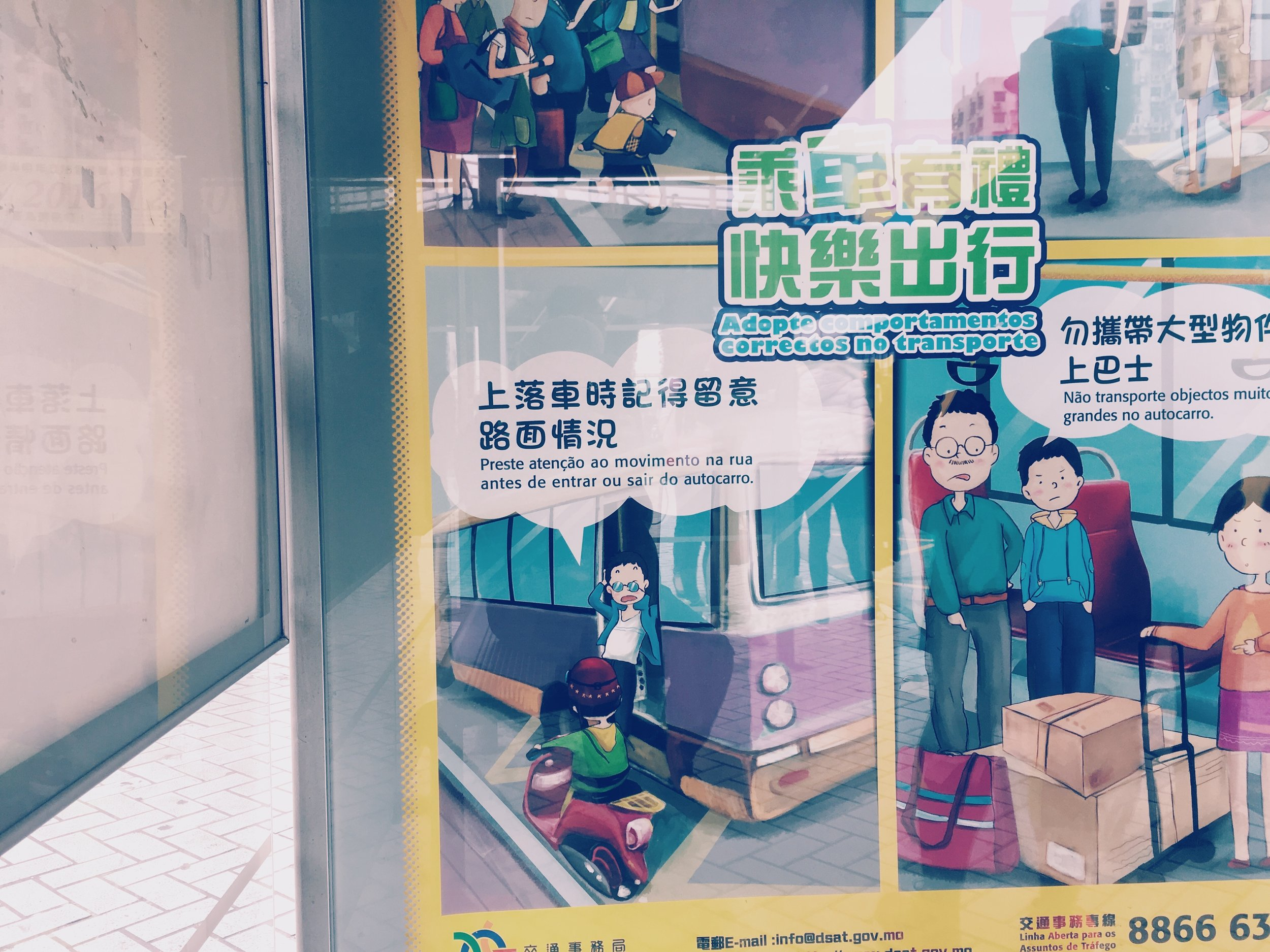 Public Bus Stops in Macau