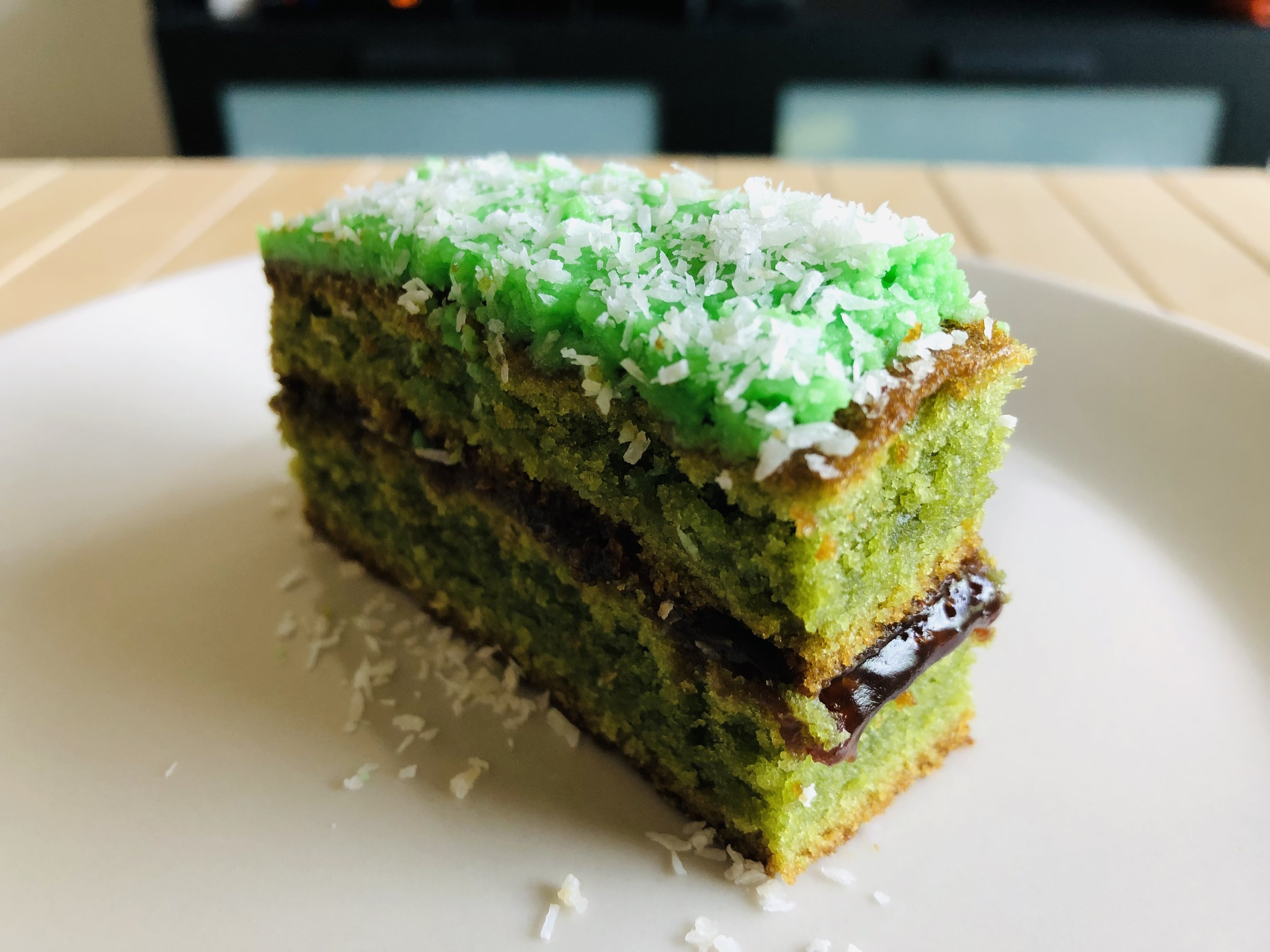 Homemade Ondeh Ondeh Cake