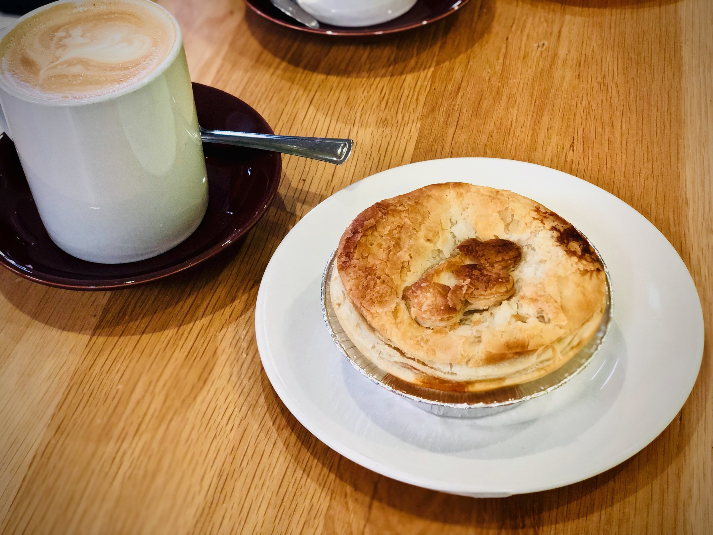 Crazy good scallop pies at Apollo Bay Bakery. Worth a stop over or waking up to!