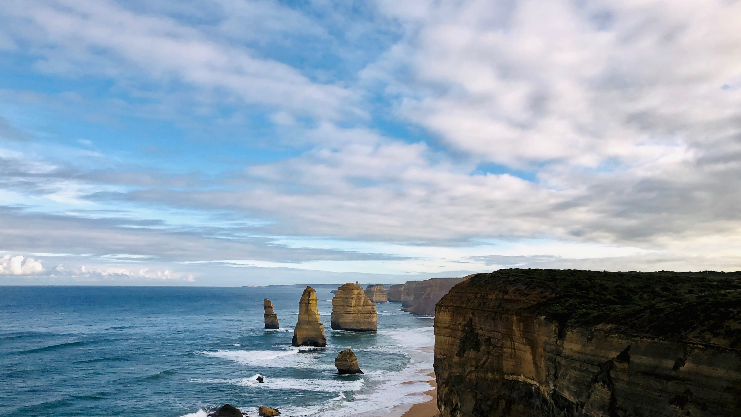 Breathtaking and scenic, The 12 Apostles is the mainstay road trip destination from Melbourne.