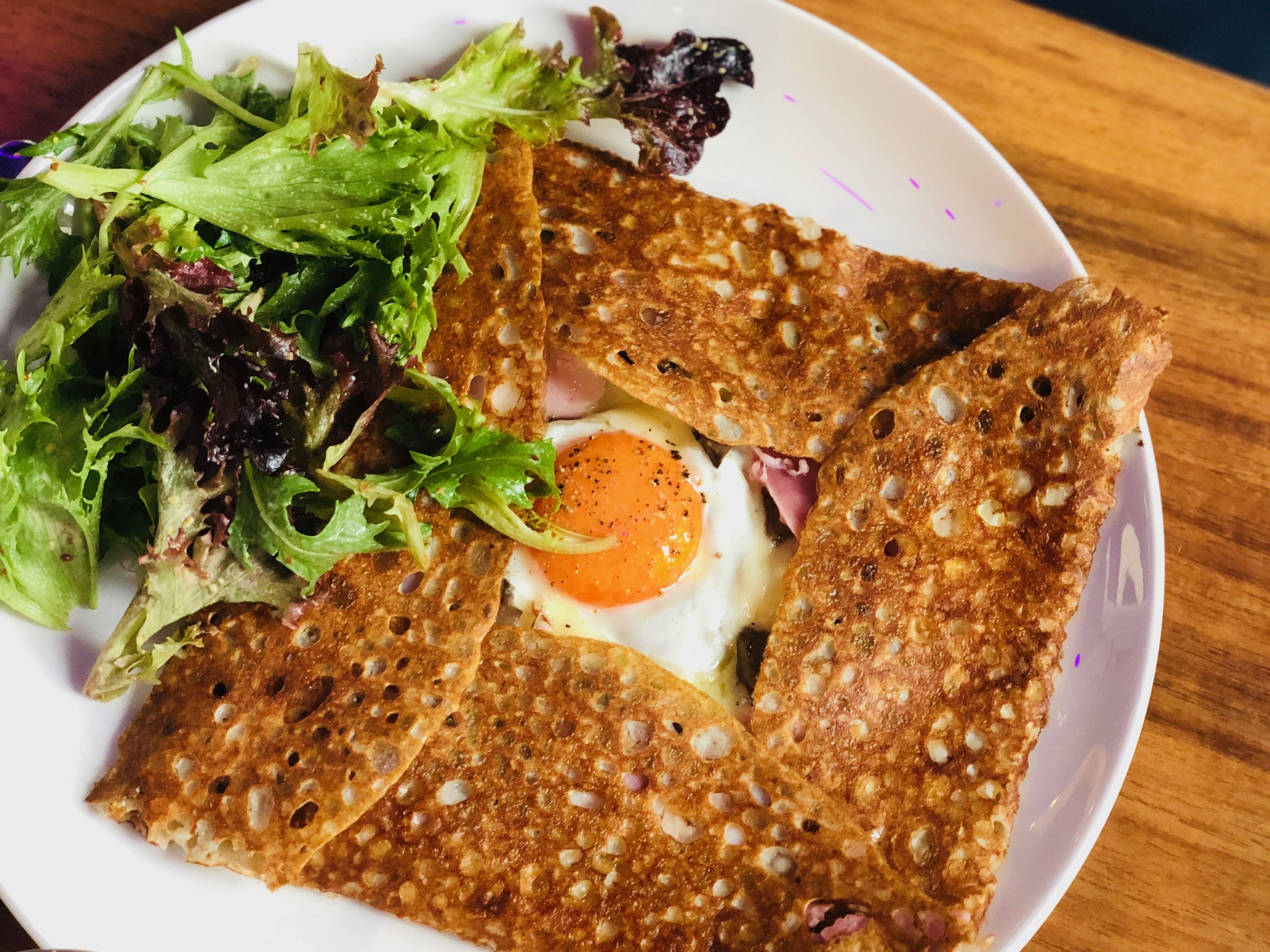 Ham and Egg Galette from Roule Galette