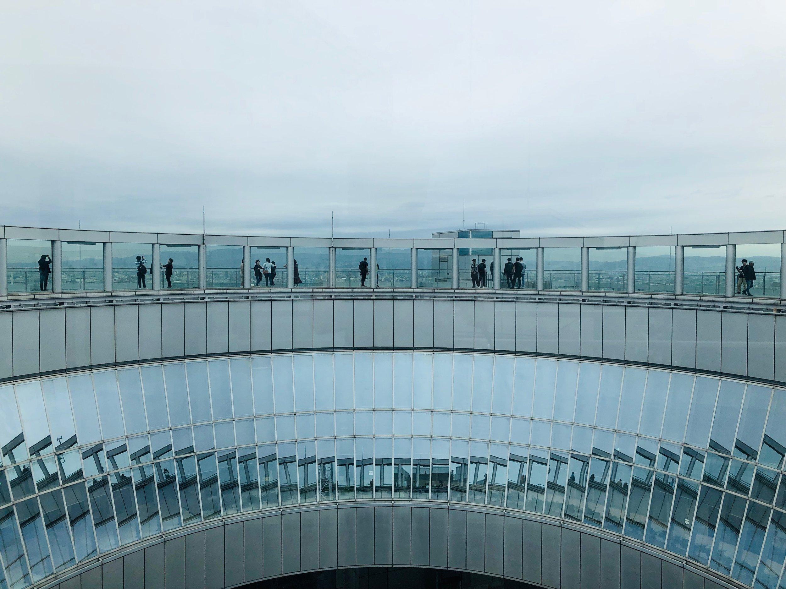 Umeda Sky Building Sky Walk