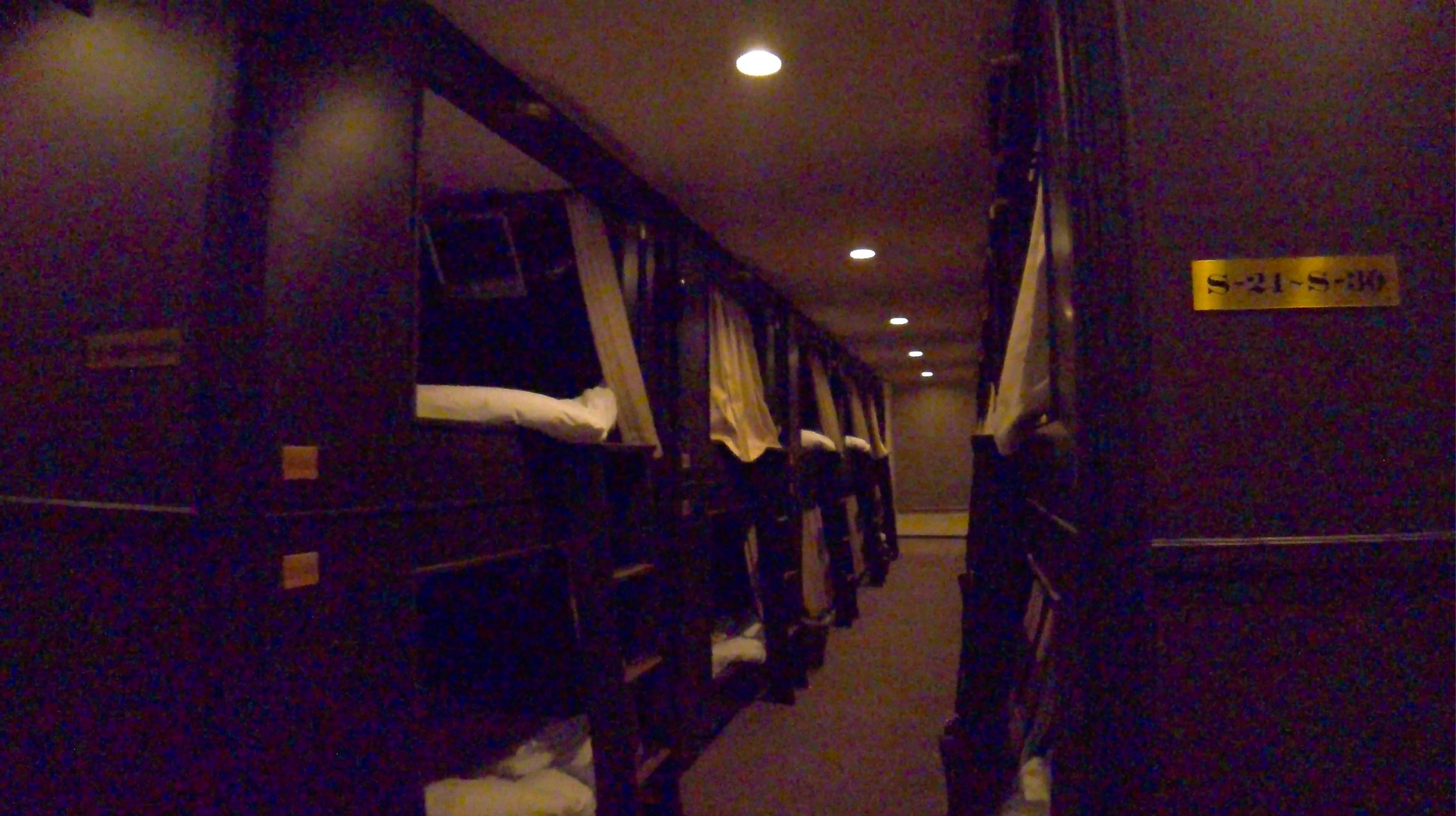 Well Cabin Nakasu. It was very hard to get a good picture because of the low light.