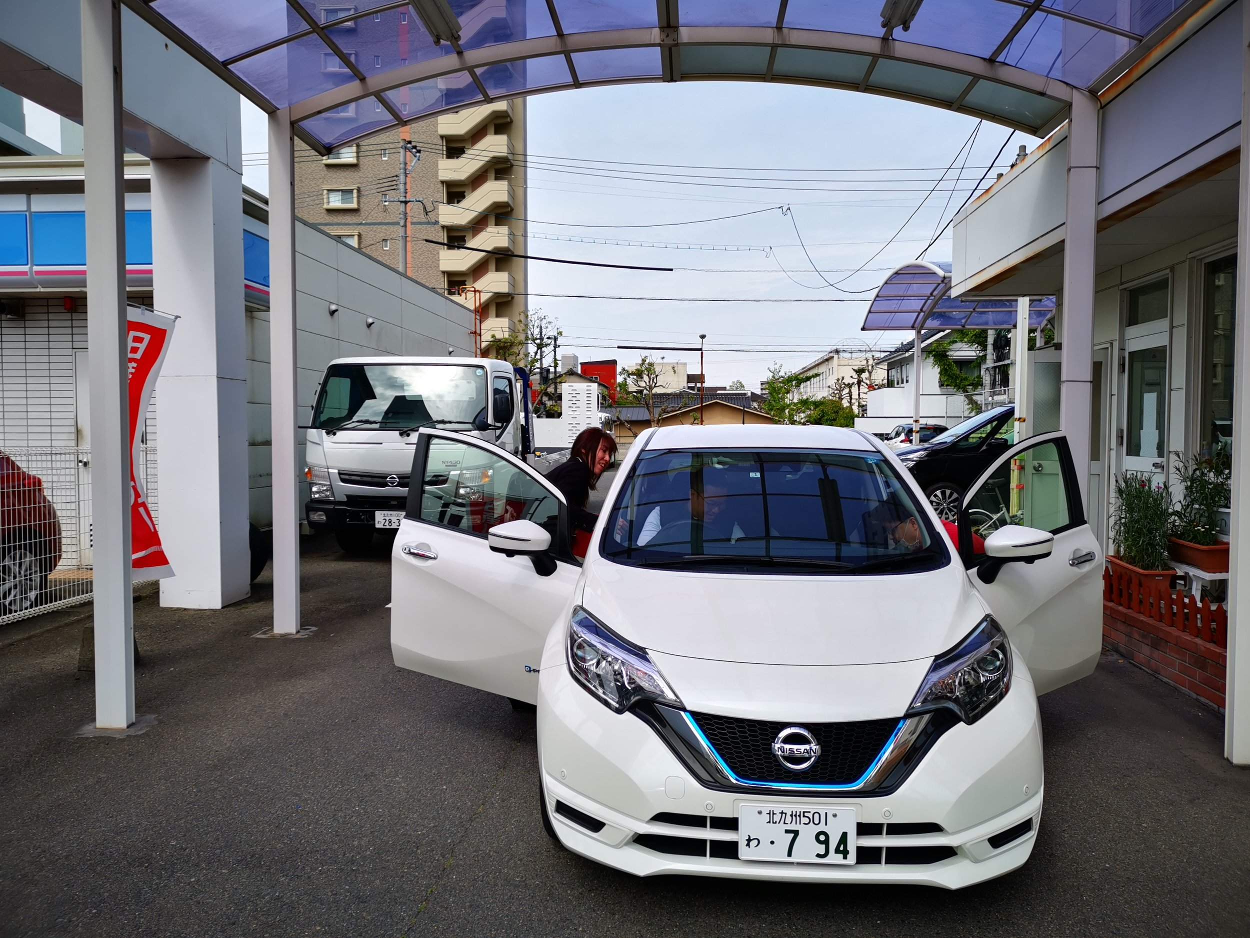 Rented a car via ToCoo! a local japanese rental agency.