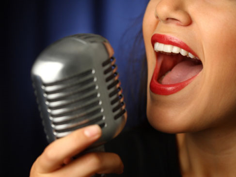 vocal projection
