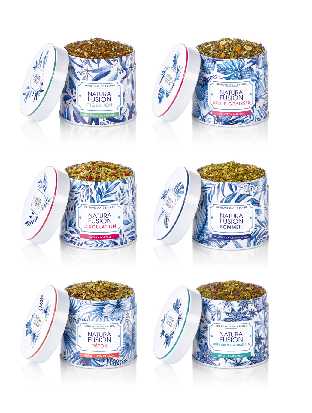 Natura Fusion - is a French brand of natural herbal teas with supplements.