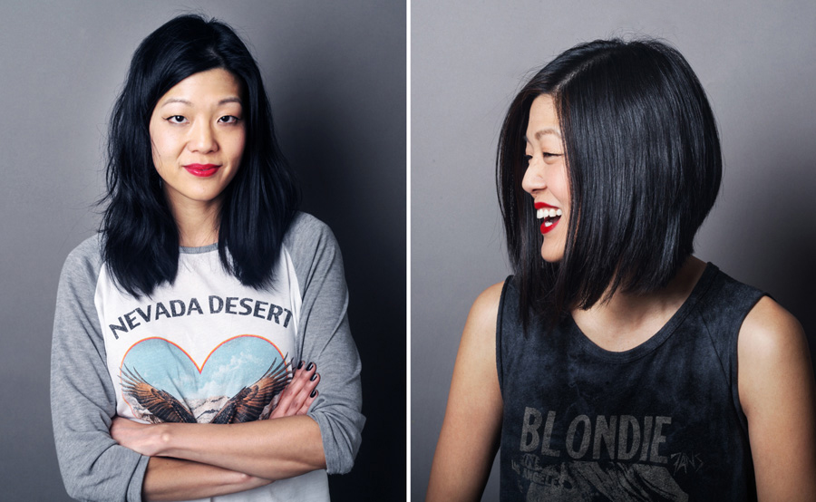Michelle Lee editor in chief Nylon hair makeover