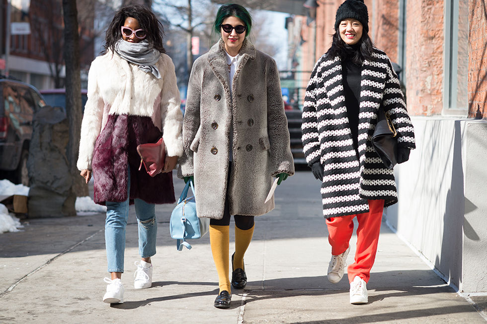 Michelle Lee Nylon editor in chief New York Fashion Week street style