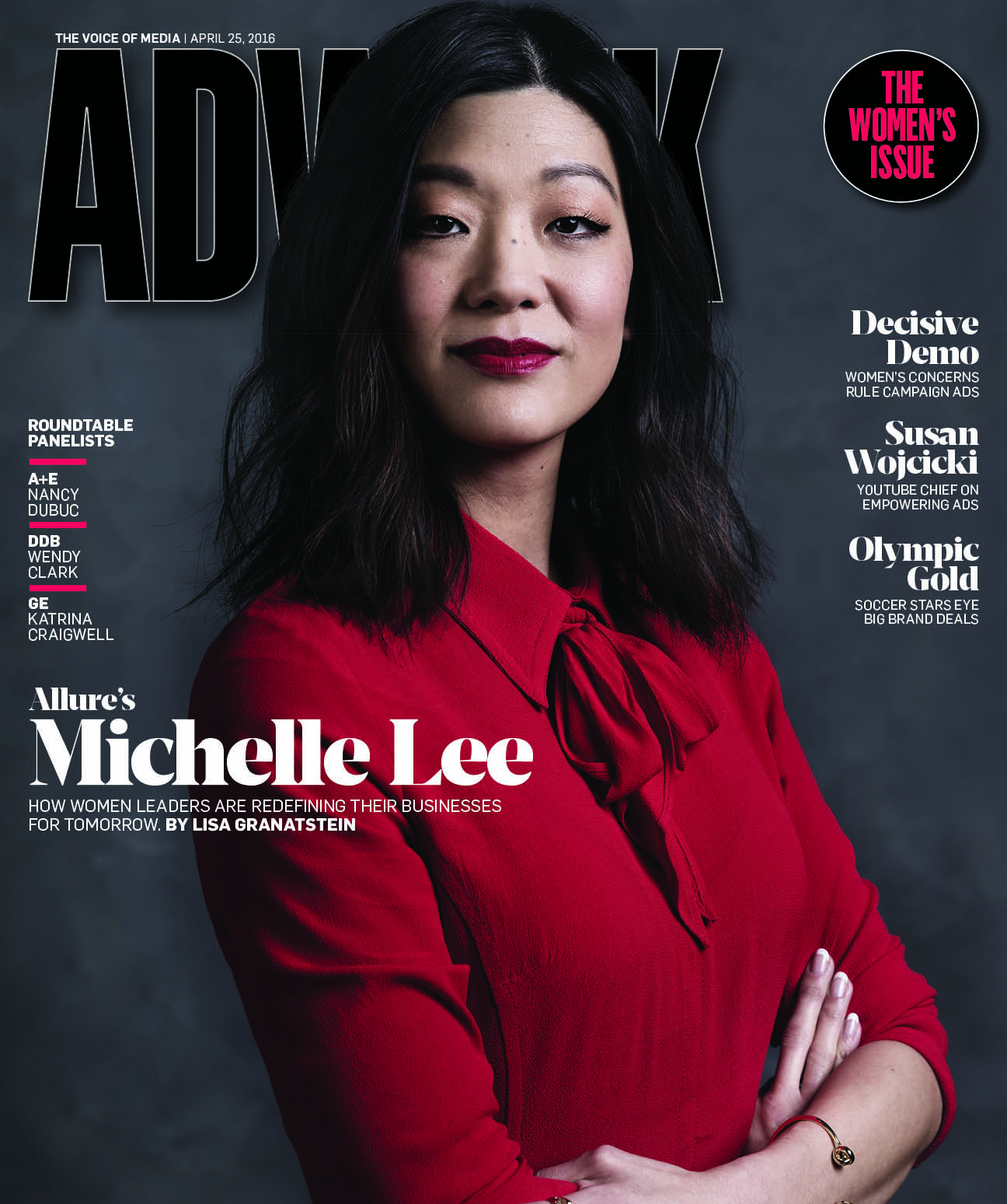 Michelle Lee cover of Adweek 2016