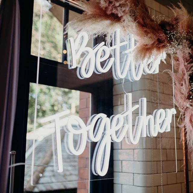 Better together 💛 Early morning editing sessions here this morning - the summer gets busy so thanks for all your patience with us! ✨ Must not get distracted searching online for a sign like this 🙈