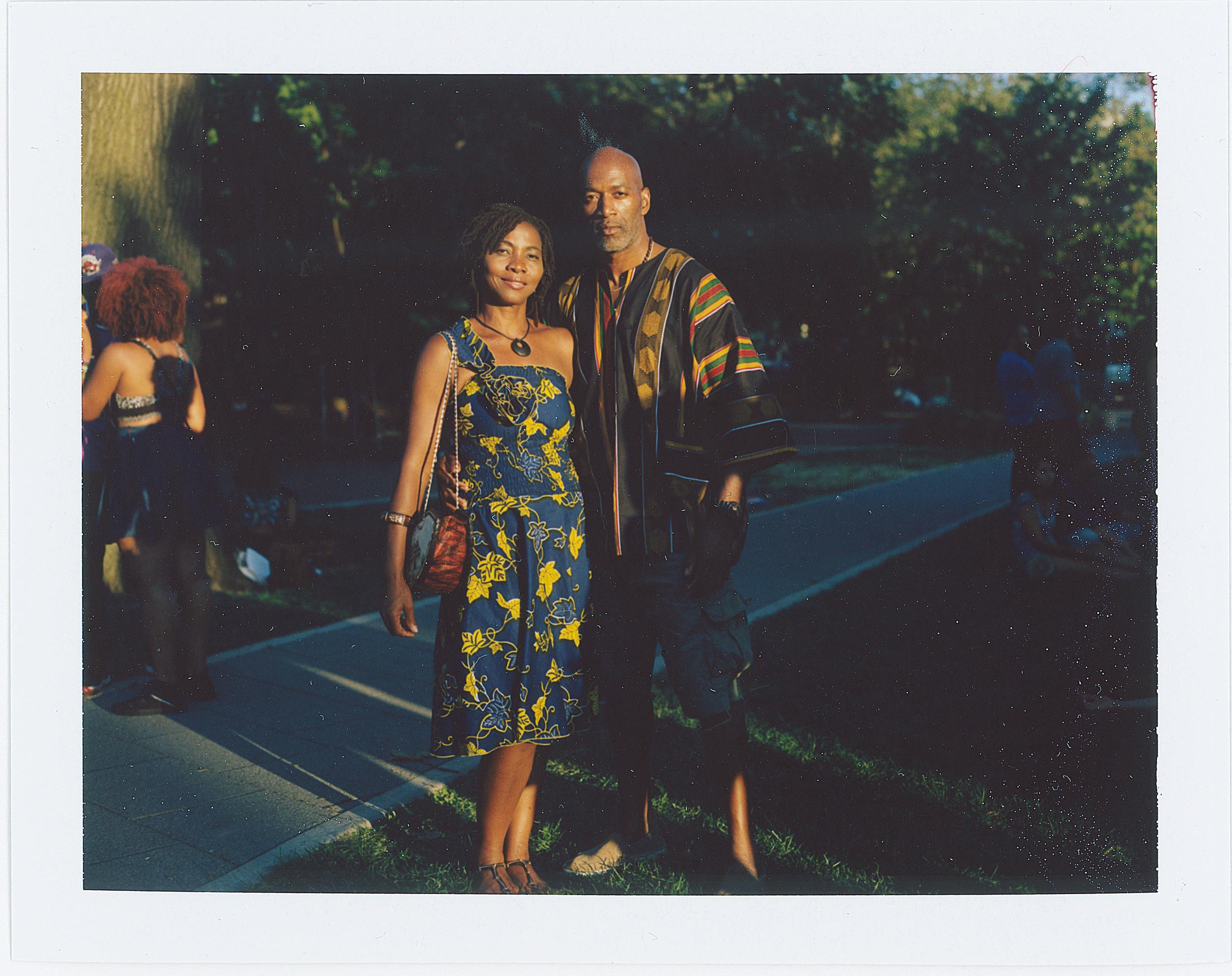 Sade and Al,  AfroPunk Festival 2015 NYC Yahoo Style