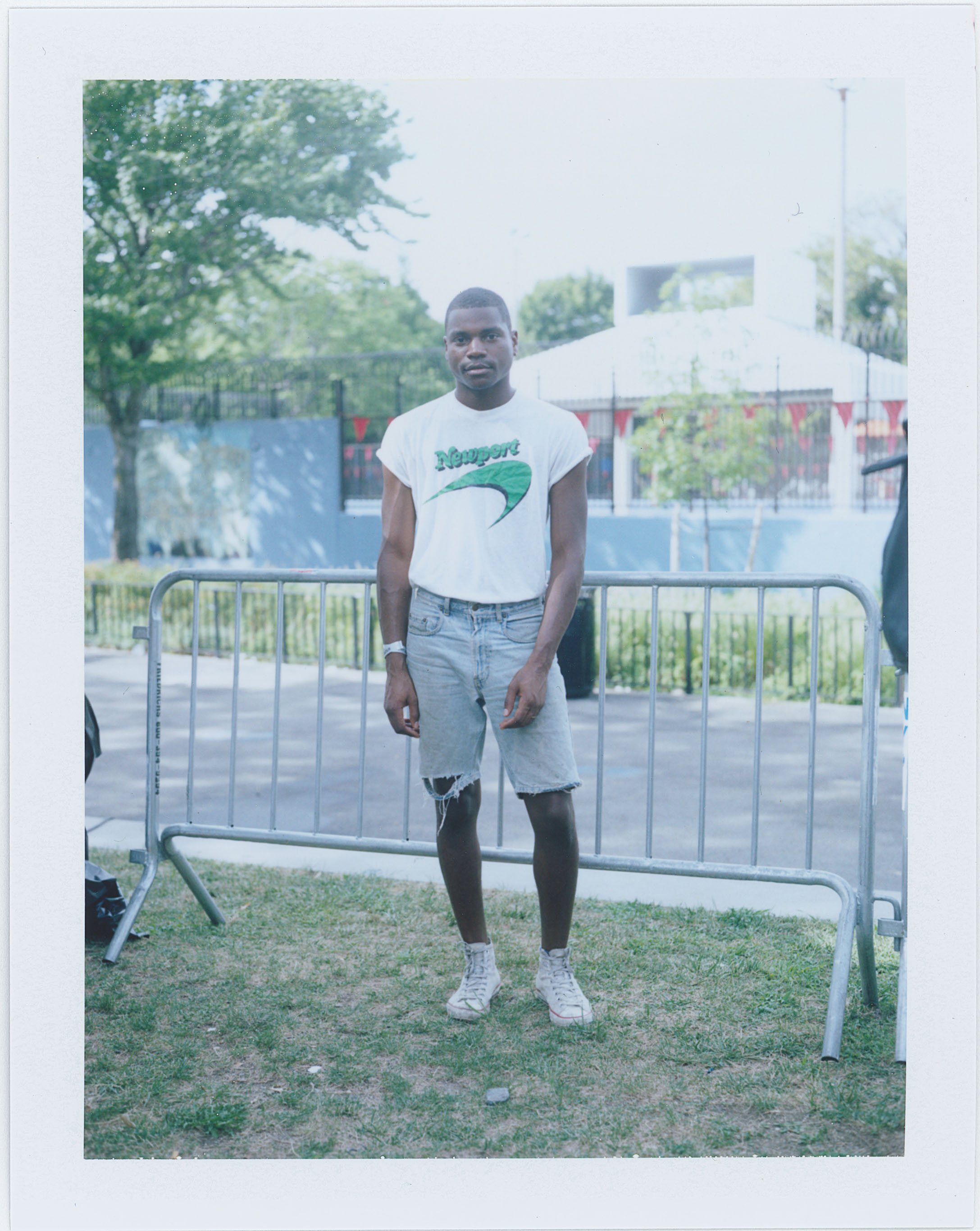 Ian McRae, AfroPunk Festival 2015 NYC Yahoo Style