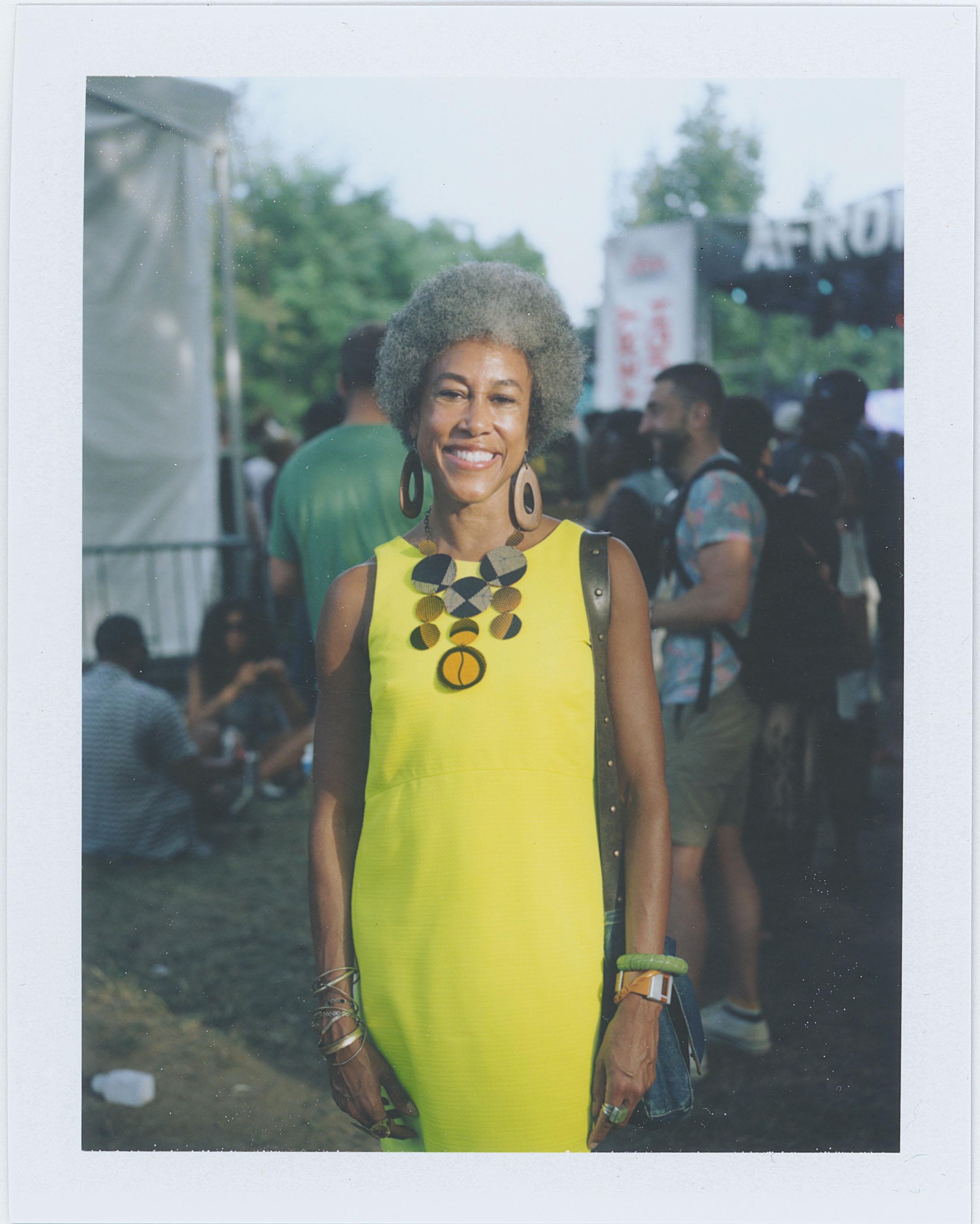 Marsha Cooke, AfroPunk Festival 2015 NYC Yahoo Style