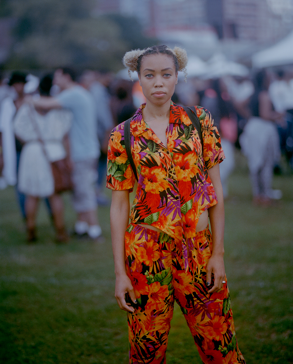 "Elesha Casamir,AfroPunk Festival 2014, Brooklyn Yahoo Style ""The Originals"""