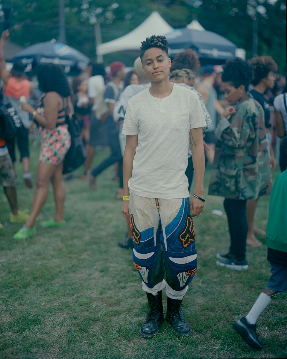 "Khaleb Brooks,AfroPunk Festival 2014, Brooklyn, Yahoo Style ""The Originals"""