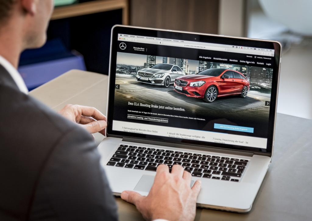 """Vertrieb der Zukunft – """"Best Customer Experience"""": #anytime #anywhere: Per Mausklick zum neuen Mercedes-Benz Pkw"""