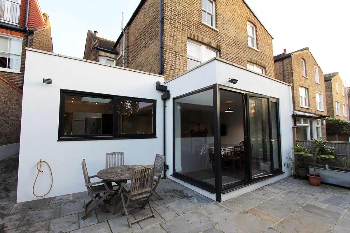 HERNE HILL  SINGLE STOREY SIDE + REAR EXTENSION
