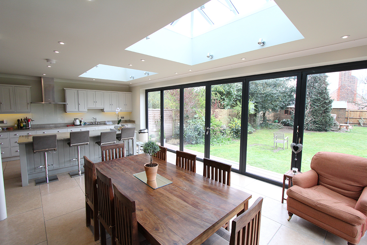 ESHER  GROUND FLOOR REAR EXTENSION + FIRST FLOOR SIDE EXTENSION