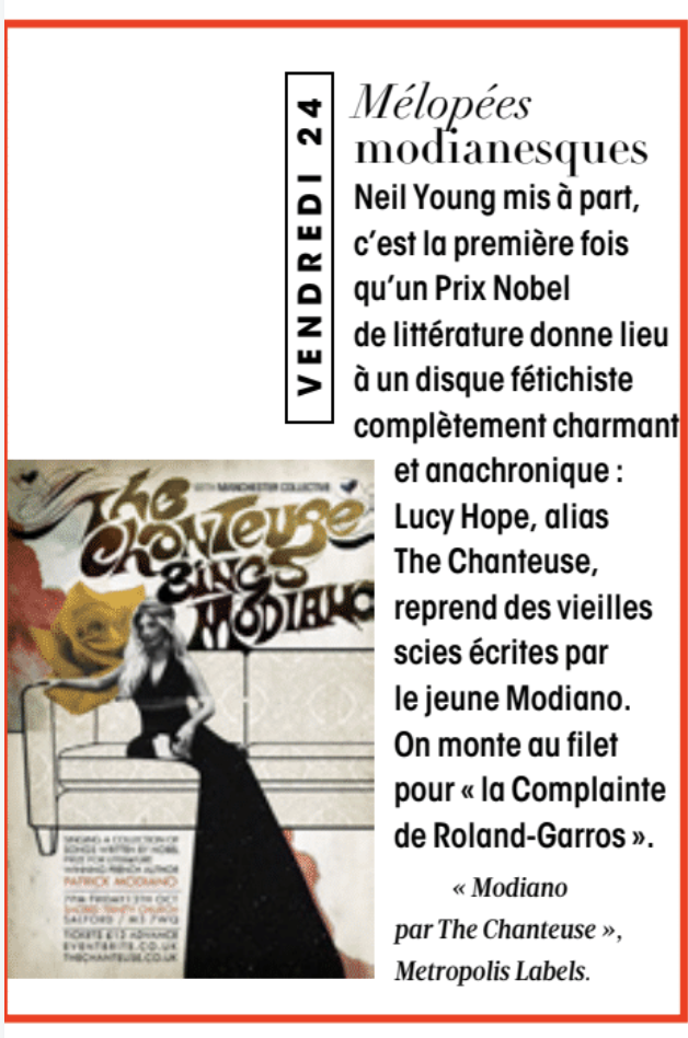 madame figaro the chanteuse review