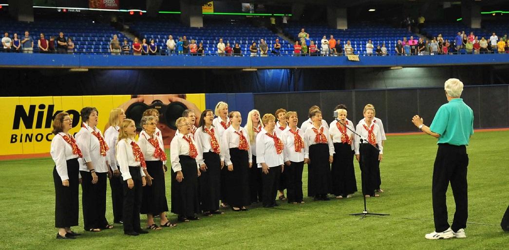 Harmony Singers Sing Anthems at Blue Jays Game.jpg