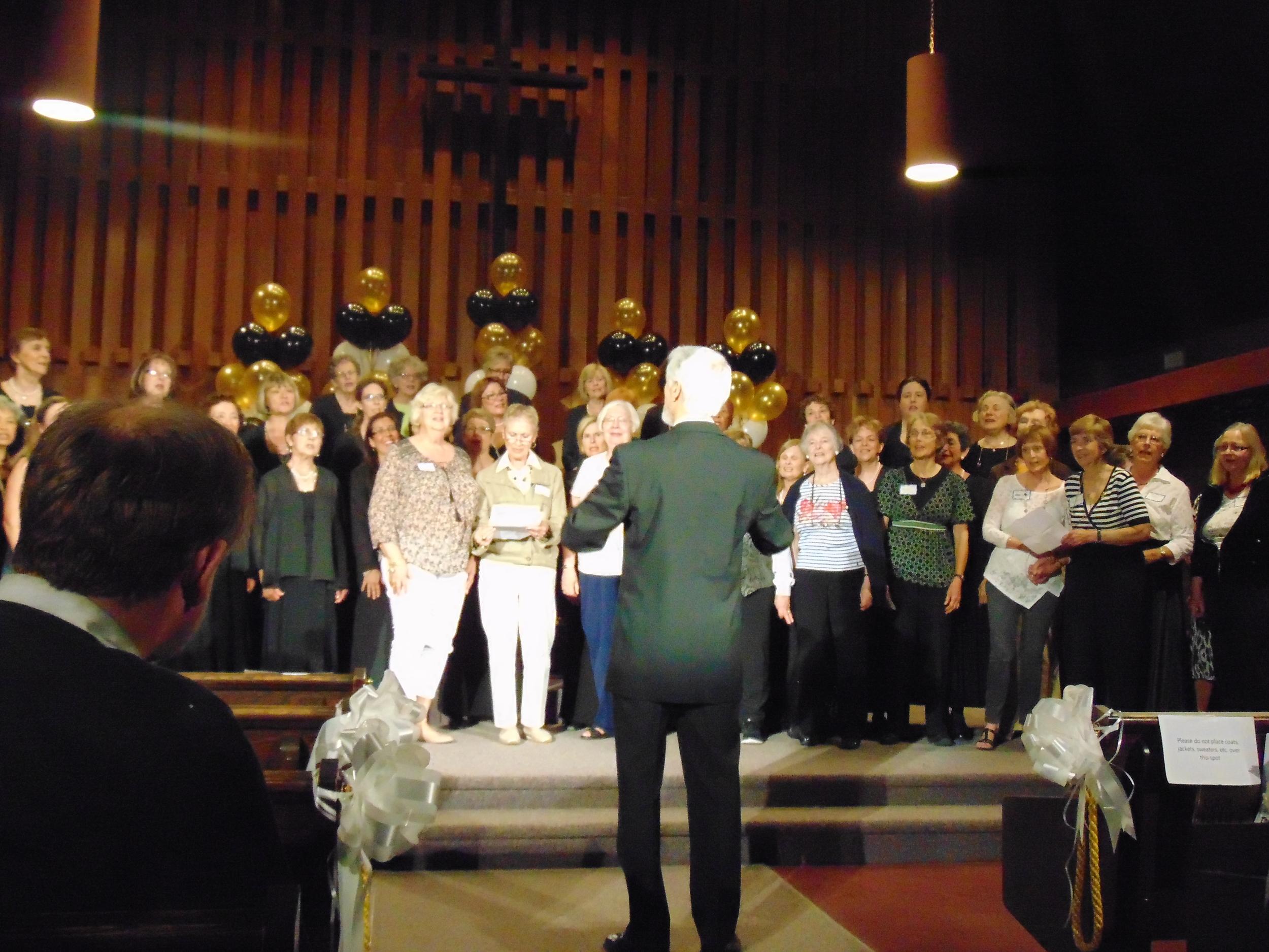 Harmony Singers 50th with Alumni.JPG