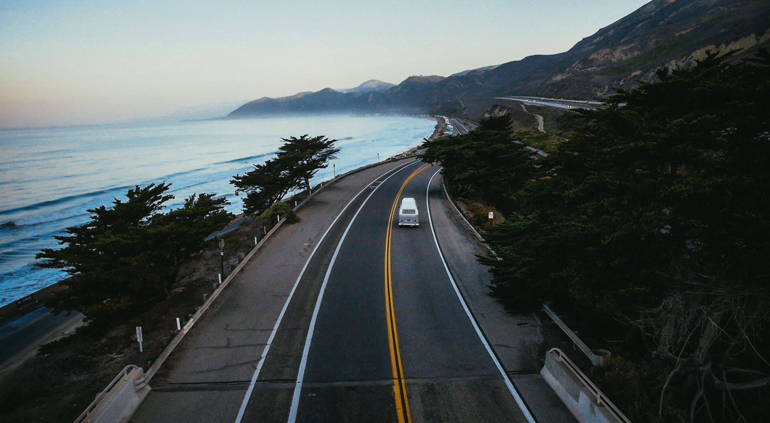 Heading up highway 1 North of Ventura