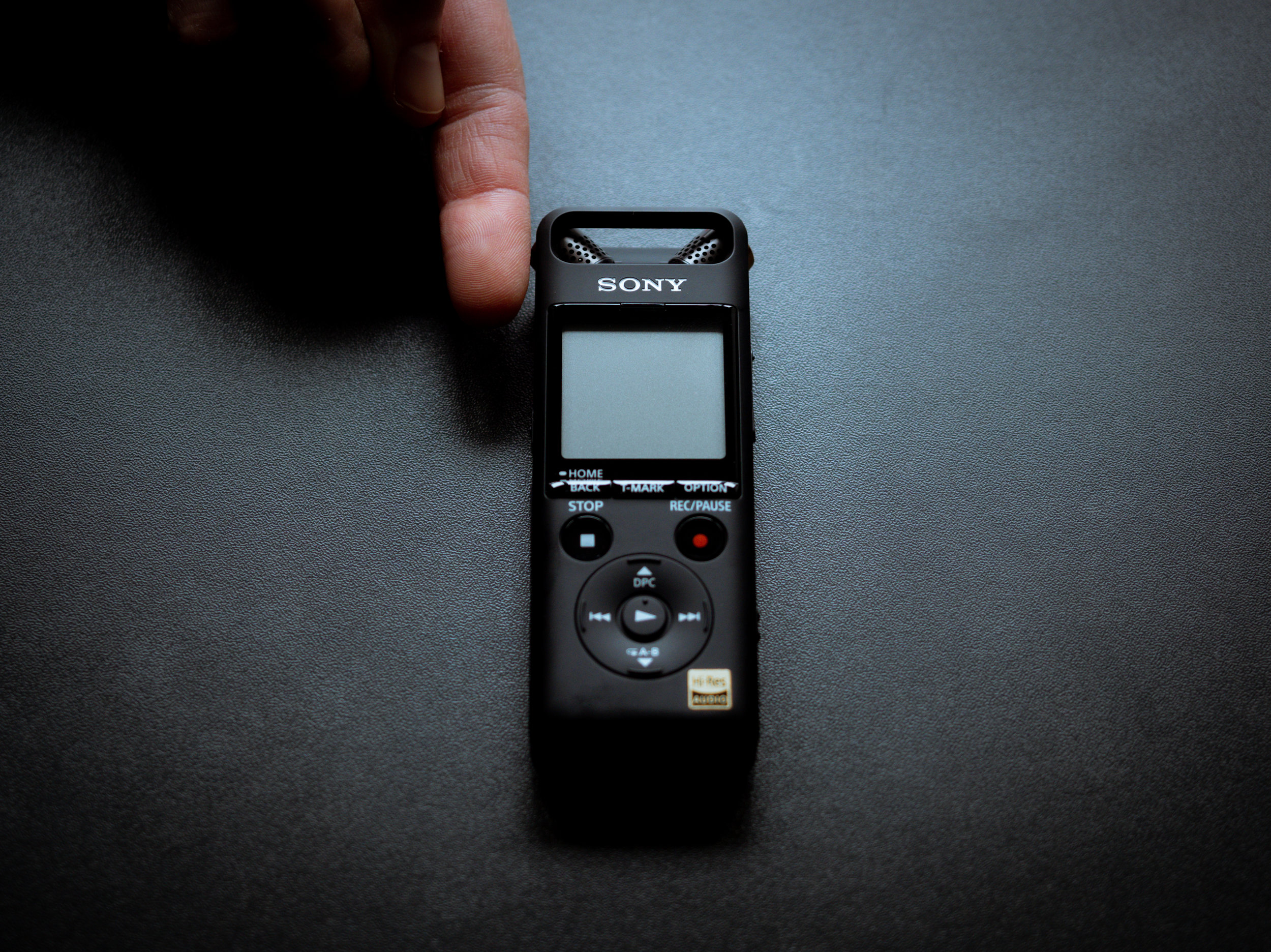 How small is the Sony PCM A10 you ask?