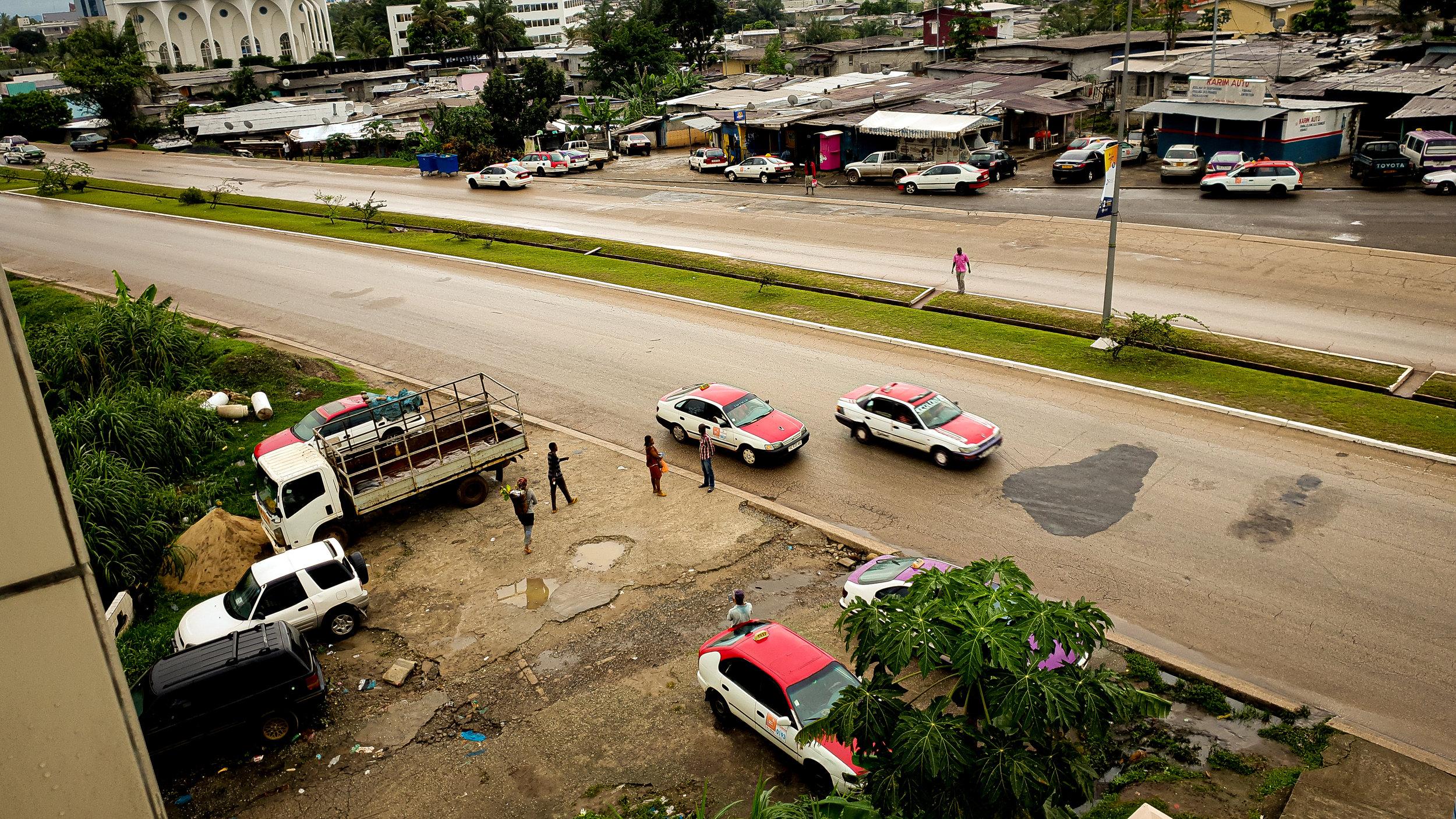 Libreville, Gabon - Boulevard Triomphal