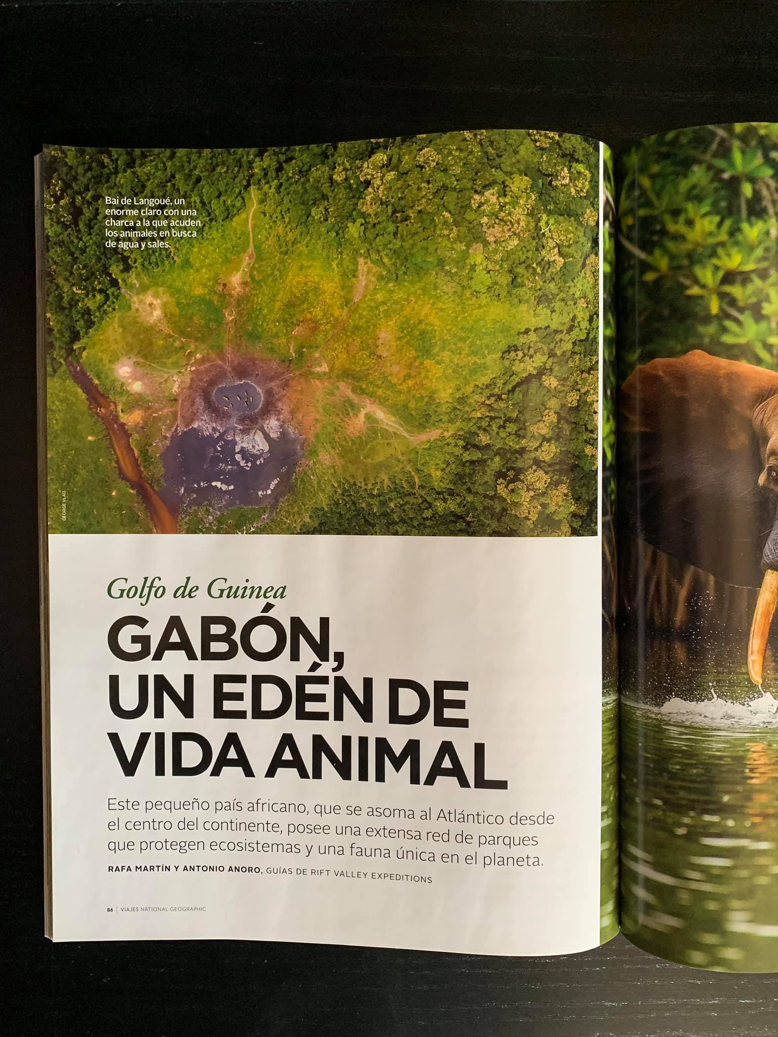 My aerial photo in National Geographic