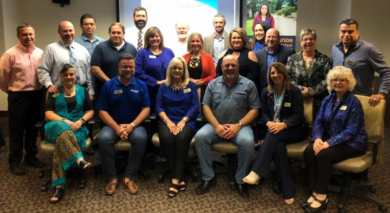 COABE Board of Directors at September Board meeting
