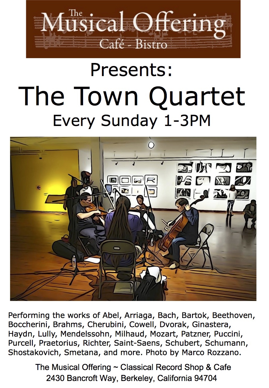 Our weekly residency since the quartet's beginning
