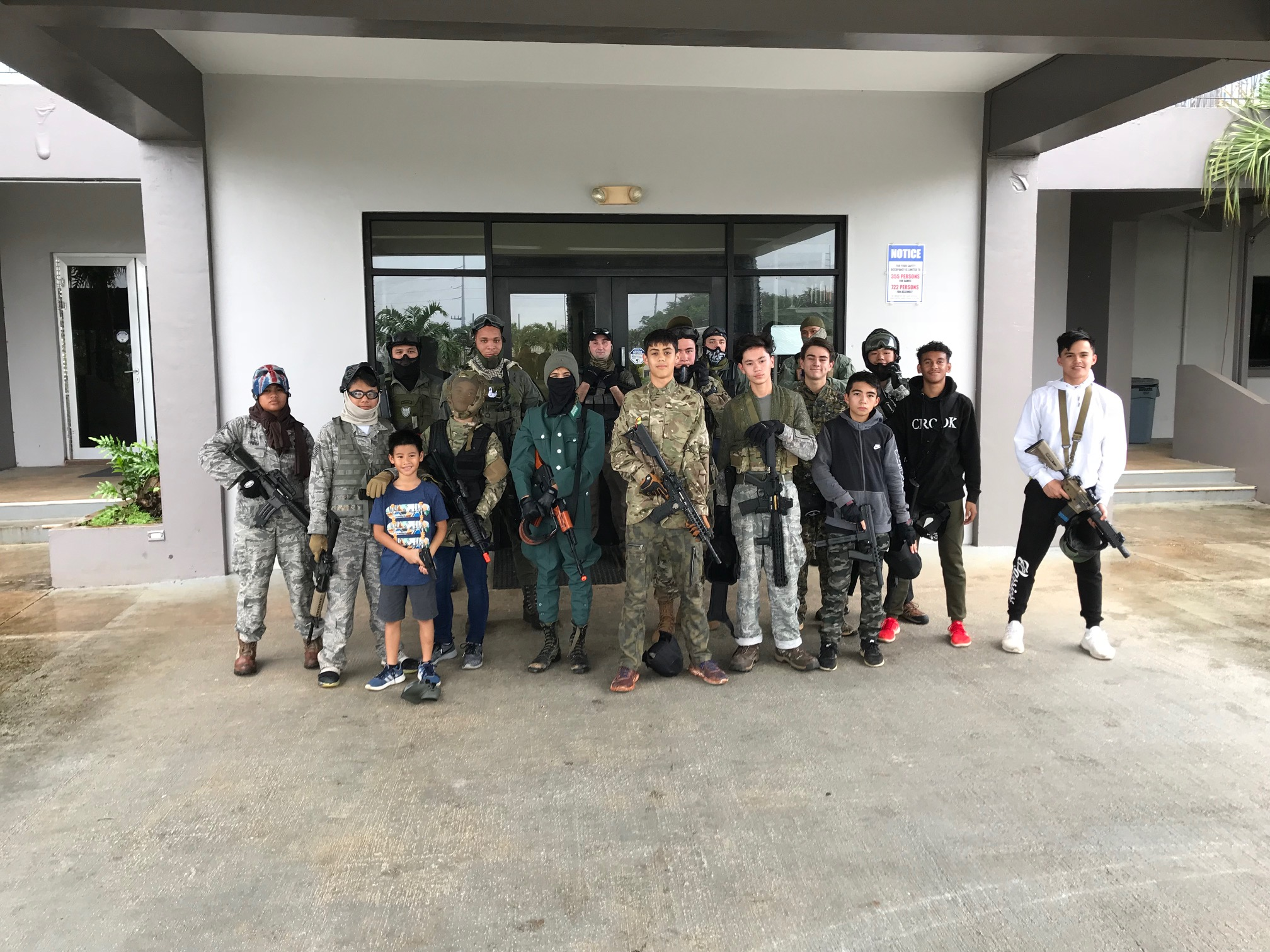Airsoft Club - Airsoft game on the 28th of Dec. 2018