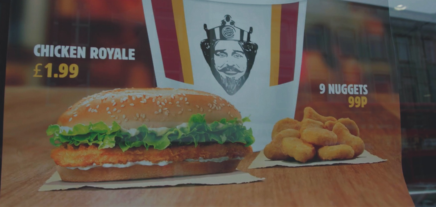 CHICKEN OUT - BURGER KING