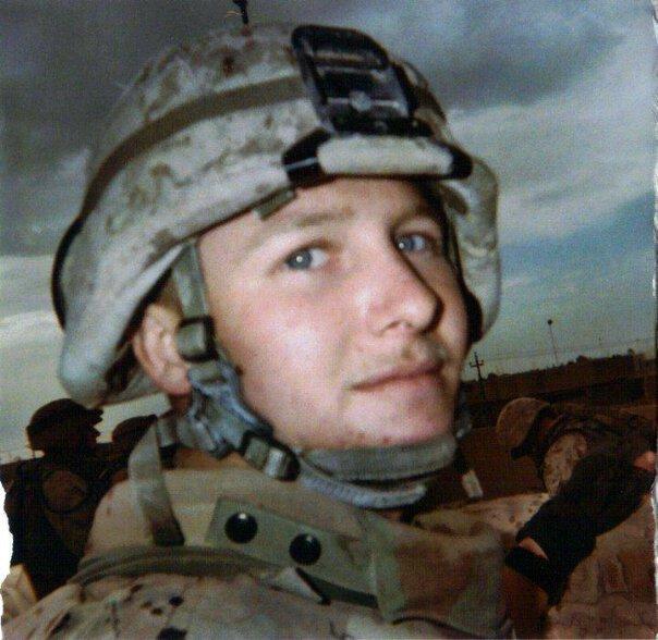 Doc Lowry in Iraq 2003