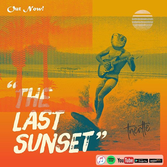 "Have you listened to our new single ""The Last Sunset"" yet? Link in bio . . . #tnertle #tnertlemusic #thelastsunset #superbestrecords"