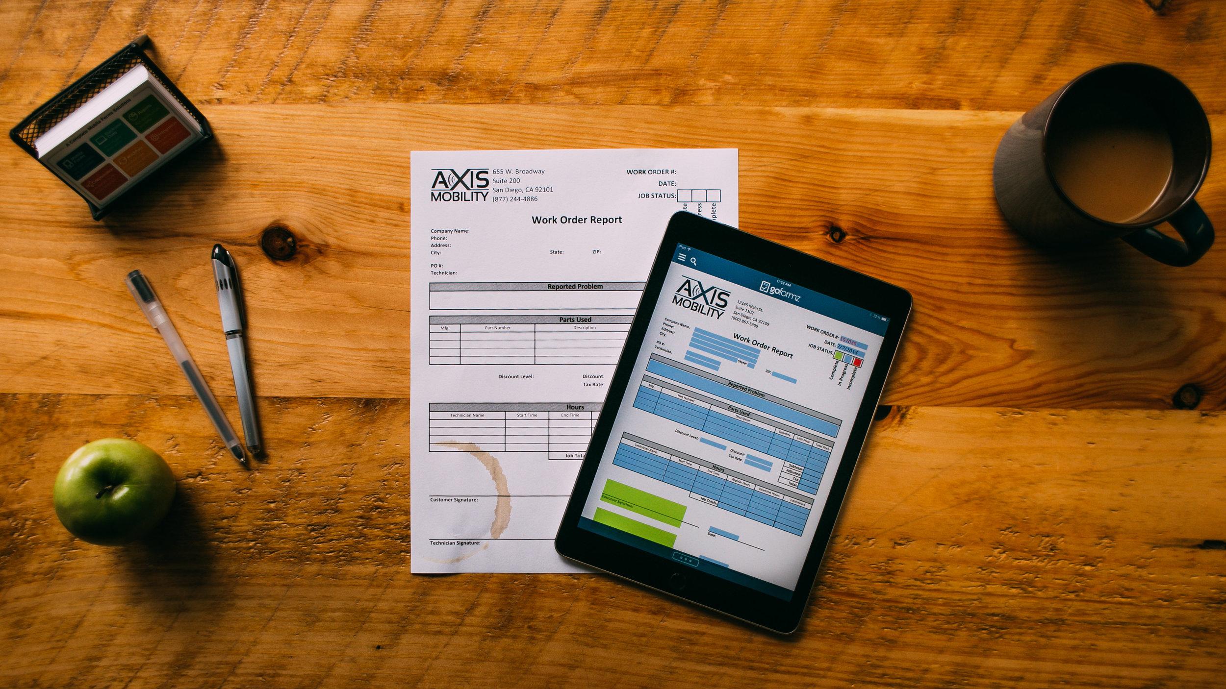Goformz Smart Mobile Forms