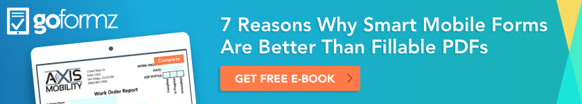 7 reasons why smart mobile forms are better than fillable pdf eBook