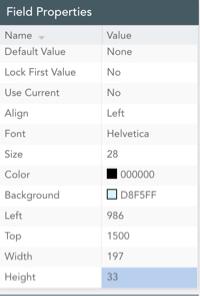 field-properties-menu