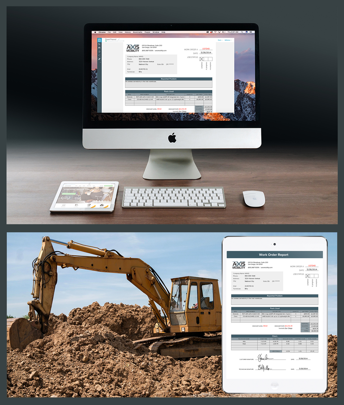 Dispatch forms anywhere, from anywhere.