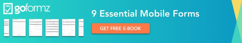 GoFormz eBook - 9 Essential Mobile Forms