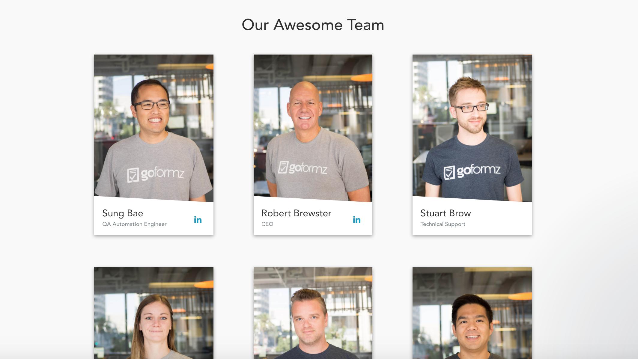 4 Features Team GoFormz Loves